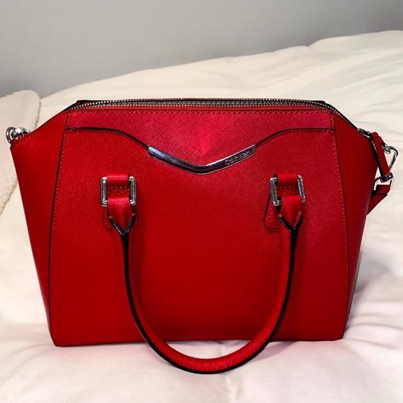 Calvin Klein Red Bag